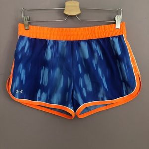 UNDER ARMOUR Heat Gear Semi-Fitted Running Shorts